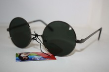 2014 REAL PHOTO round driving fishing UV400 UV 100% navigationsunglasses with test card 785675(China)