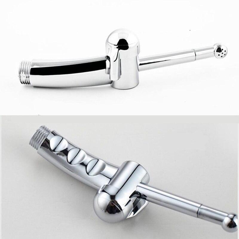 ABS Chrome Handheld Bidet Shattaf Toilet Bidet Faucets Bathroom Bidet Sprayer for Bathroom Toilet Accessories