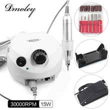 30000RPM Electric Nail Drill Machine Nail Art Equipment Manicure Kit Nail Drill File Bit Sanding Bands Accessory Nail Art Tools