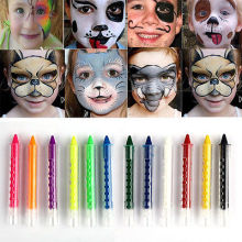 Face Body Painting Crayon Fluorescent  6 Colours Kit Set Sticks Party Wedding Kids Children Painting Sticks