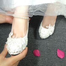 New fashion pearls bridal pumps shoe for wedding party proms occassion, light ivory milk white woman ladies low high heels pump