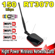 High Power/Speed N9000 Free Internet Wireless USB WiFi Adapter 150Mbps Long Range + Wi fi Antenna Wi-fi Receiver Hot Sale!!