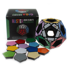 MF8 Hollow Void Megaminx Cubes Magic Cube Puzzle Education Toys for Kids Children(China)