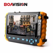 BOAVISION 5 Inch TFT LCD 1080P 4 IN 1 TVI AHD CVI Analog CCTV Tester Security Camera Tester Monitor VGA HDMI Input Audio Test