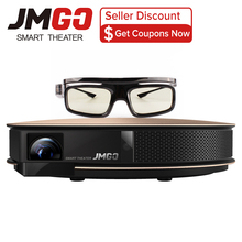 JmGO G3 Pro Smart Home Theater Wifi Android OS Support 4K 1080P 300 inch USB HDMI Beamer 1200 ANSI Bluetooth Speaker(China)
