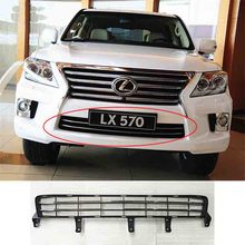 ABS Front Bumper Grille Racing Grills Trim for Lexus LX570 2012-2015