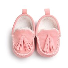 Winter Baby Pu Leather Infant Suede Boots Baby Moccasins Newborn Princess Baby Shoes