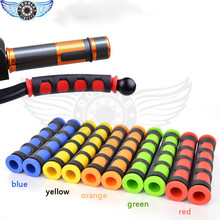 Universal Pair Heavy Duty Motorcycle Handgrip Guard  Motorbike Brake Clutch Lever Cover Handlebar Grips 5 color optional