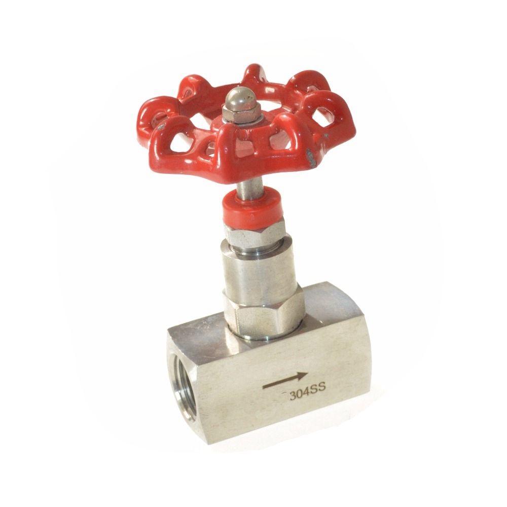 1pc DN15 1/2 Female 304 Stainless Steel  Needle Globe Valve Rigidity seal  valve<br><br>Aliexpress