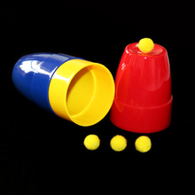 Big size Cups and balls magic sets magic toys magic tricks