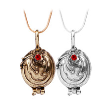 2017 Fashion The Vampire Diaries Necklace Elena Gilbert Vintage Vervain Verbena Pendant Jewelry for Men and Women Wholesale