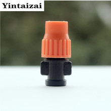 Adjustable Mist Sprinkler For Micro Greenhouse Irrigation Misting Garden Watering Irrigation Fitting M103(China)