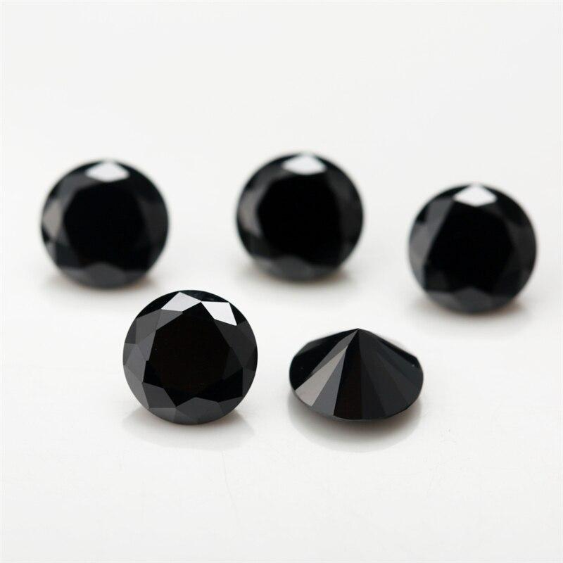 1mm~3.75mm Round-Black-Cubic-Zirconia-7 (3)