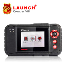 2017 Original Launch Creader VIII Code Reader Same Creader 8 ENG/AT/ABS/SRS EPB SAS Oil Service Light resets