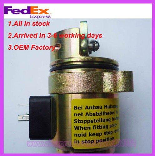 BF4M1011F Fuel shut off solenoid 04272733 loader 863/873 0427 2733<br><br>Aliexpress