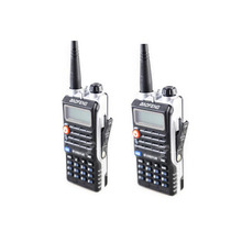 2pcs 8W High Power 4800mAh Li-ion Battery LEG Lighting New Baofeng Dual Band Two Way Radio BF-UVB2 Plus Walkie Talkie UVB2