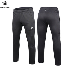 KELME Men Authentic Survetement Football Pants Professional Soccer Training Pants Polyester Slim Trousers Quick Dry(China)