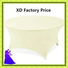 Free shipping high quality spandex  round table cover wholesale price
