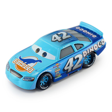 Disney Pixar Cars 3 New Role No.42 Cal Weathers Lighting McQueen Diecast Metal Car Model New Year 2018 Best Gifts For Boys Kids(China)