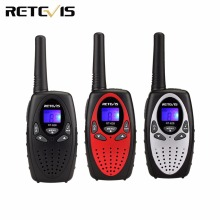 1pcs Walkie Talkie Kids Radio RETEVIS RT628 0.5W UHF 446MHz EU Frequency Portable Hf Transceiver Ham Radio Christmas gift A1026
