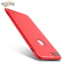 KISSCASE For iPhone 6 7 Cases 6S 5 5S SE Soft Rubber Gel Phone Case Dirt-resistant Matte Carcasas Cover For iPhone 7 6 6S Plus