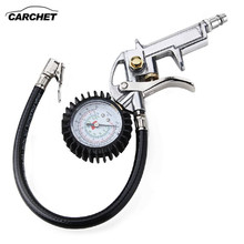 CARCHET EU Digital Car Truck Air Pressure Inflator Gauge Vehicle Manometer Tyre Pressure Tester Tire Repair Tools(China)