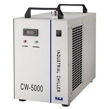 cw5000 chiller for cool co2 laser machine ,laser engrave machine tool ,laser engraver machine toor
