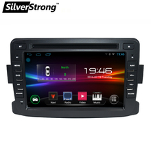 SilverStrong Android 1DIN Car DVD For RENAULT DUSTER LOGAN LADA XRAY SYMBOL DACIA Kaptur DOKKER DVD Car GPS multimedia