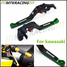 for KAWASAKI ZZR1200 ZG1000 CONCOURS Motorcycle Accessories Adjustable Folding Extendable Brake Clutch Levers Free Shipping!