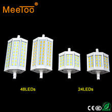 Factory Price R7S LED Light 15W 25W 24 48Led Bulb Lamp SMD5730 r7s 78mm J78 118mm J118 Spotlight Replace Halogen Floodlight Lamp(China)