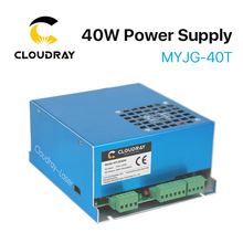Cloudray 40W CO2 Laser Power Supply MYJG-40T 110V 220V for CO2 Laser Engraving Cutting Machine 35-50W(China)