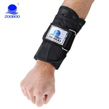 Zooboo 5kg Adjustable Tying Hand Wrap Wrist Weights Strap Strength Training Exercise Fitness Equipment For Tennis Basketball(China)