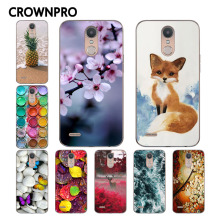 CROWNPRO Soft TPU FOR Coque LG K10 2017 Case Cover Painted LG K10 2017 Case Silicone Back Phone Case FOR LG K10 2017 M250 M250N(China)