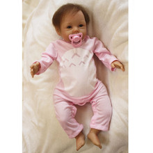 Reborn Babies Dolls Soft Vinyl Reborn Baby Bonecas Educational Toys for Children Gifts,50 CM Baby Alive Doll for Girls Toys(China)