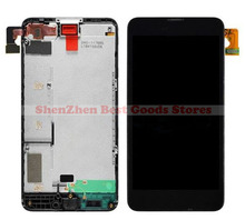 LCD Display  With Touch Screen Digitizer Assembly + Front Frame Front Housing  For Nokia Lumia 630 635