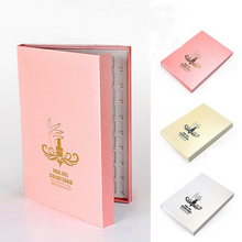 216 Colors High-Grade Dedicated Nail Color Cartridge Display Books Nail Gallery Tool(China)