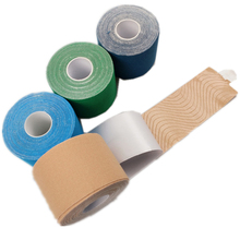 5cm*5m waterproof elastic cotton adhesive kinesio tape Sport injury muscle strain protection tapes first aid bandage support(China)