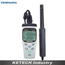 TENMARS TM182 Handheld Temperature Humidity Tester with Datalogging Function(China)