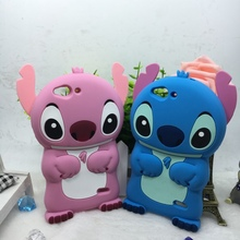 3D Cartoon Stitch Case For ZTE Blade S6 Q5 5.0 inch Cute Soft Silicone Phone Cover(China)