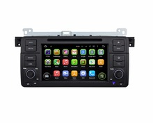 "Quad Core Android 5.1 HD 1 din 7"" Car PC Radio DVD GPS for BMW E46 M3 1998-2005 With 3G/WIFI Bluetooth TV AUX IN USB 16GB ROM"