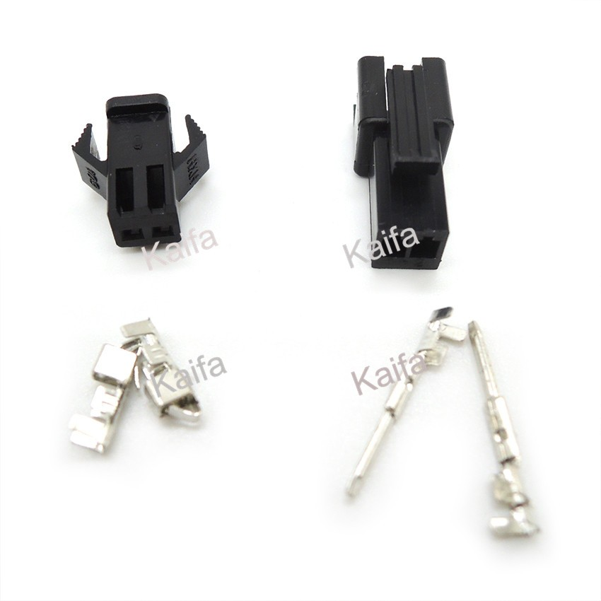 (20sets/lot)(connectors|SM) SM 2Pin Pitch 2.54MM  Female and Male Housing + terminals  SM-2P SM-2R JST 2.54MM SM2.54<br><br>Aliexpress