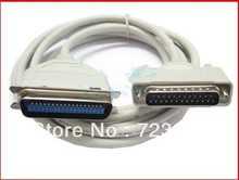 2.8M IEEE 1284 DB25 25Pin Male to Female M/F Parallel LPT Cable For Laser Printer(China)