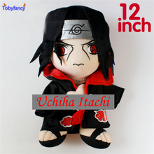 Tobyfancy Naturo Anime Plush Doll Uchiha Itachi Soft Stuffed Plush Toy 12' Inch Carton Plush Doll(China)