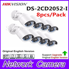 Buy 8Pcs HiK English Version 5MP Bullet Camera DS-2CD2052-I 5 Megapixel WDR Network Bullet IP Camera IP66 Replace DS-2CD2055-I for $920.00 in AliExpress store