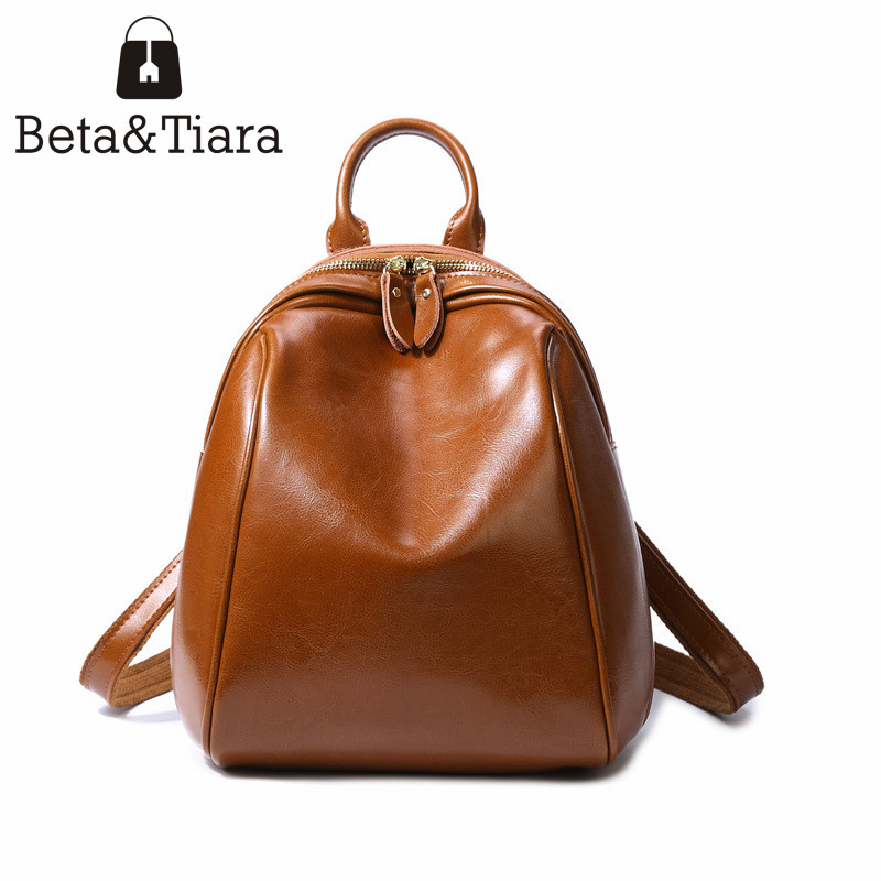 Genuine Leather mini backpack female bag small backpack cute bagpack fashion women bags cow leather back pack women<br>