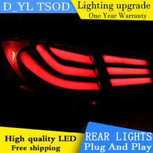 D_YL Car Styling for Chevrolet Cruze Tail Lights 5-Series Design Cruze LED Tail Light Rear Lamp DRL+Brake+Park+Signal(China)