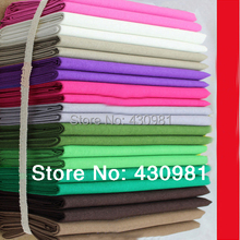 wholesale plain dyed flax fabric patchwork sewing natural cotton linen fabric for clothing