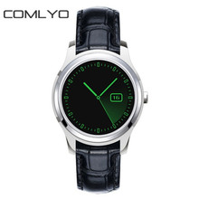 COMLYO TOP Original X1 Smartwatch 3G Leather Smart Watch 4G ROM+512MB RAM Android 4.4 GPS WIFI SIM Heart rate Monitor PK GD19
