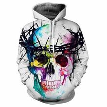Hip Hop Hoodies Women 3d Sweatshirts Print Lion King Skulls Fashion Club Hooded Hoodies Unisex Hoody Pullovers M-4XL