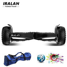 IRALAN 8.5 inch Electric Skateboard 2 Wheels Electric Scooter Patent Balance Hover board Skateboard Powered walkcar hoverboard